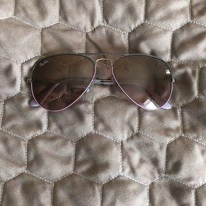 Junior Rayban Aviator sunglasses